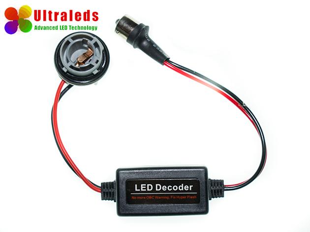 LED DECODER FILTR CANBUS BA15S P21W